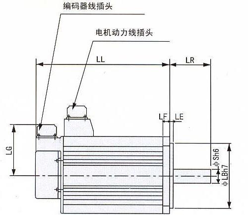 禾川x5系列伺服接线图